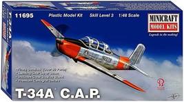 Minicraft 1/48 T-34A C.A.P. Civil Air Patrol Plastic Model MC11695 - $99.00