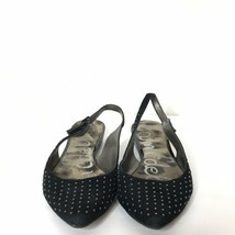 Sam Edelman Idahlia Pointed Toe Flats Size 8.5M Studded Leather Upper - $34.57
