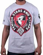 Famous Stars & Straps X Msa Ehre Manny Santiago Skateboarding Grau T - Shirt