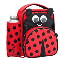 Smash 3d Ladybird Lunch Bag And Bottle - $21.79