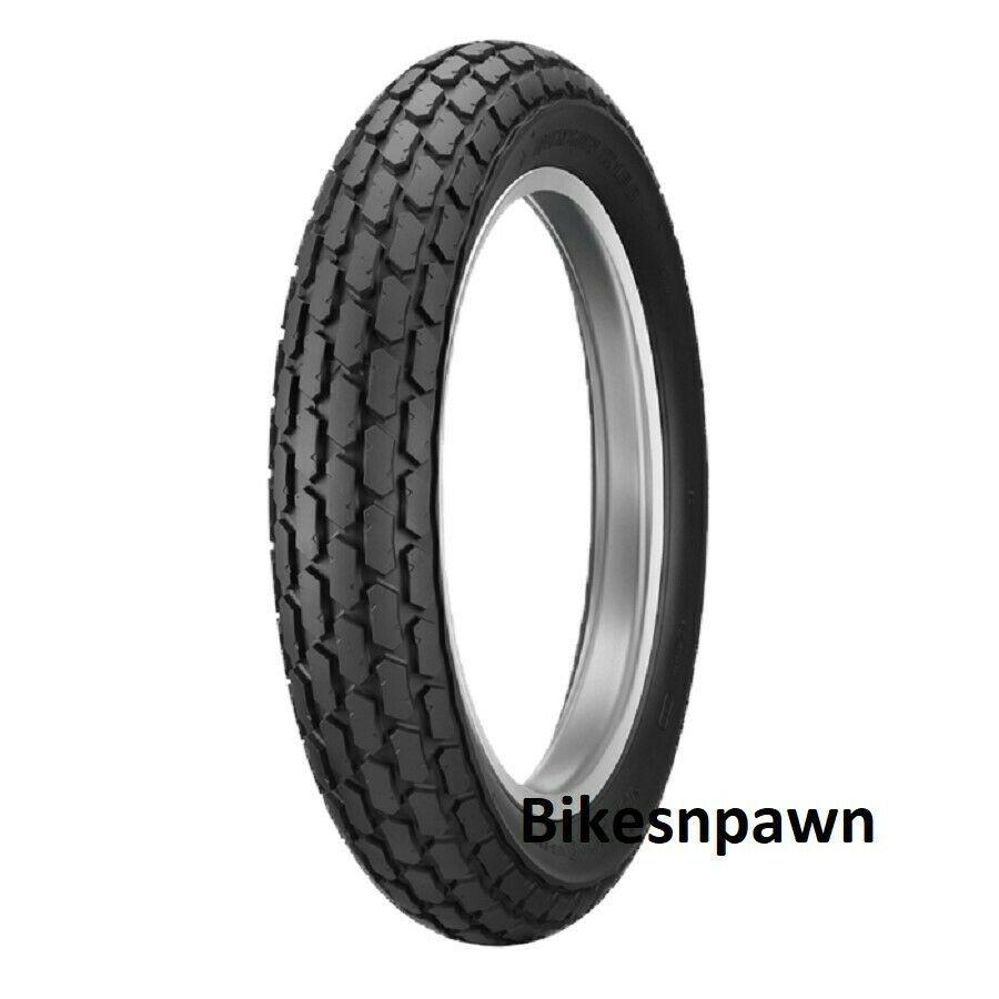 Dunlop K180 Vintage Flat Track Style 130/90-10 Rear Motorcycle Tire 61J TL
