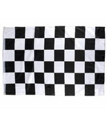 "CHECKERED FLAG 3 X 5 FEET 36"" X 60"" NASCAR RACING BLACK AND WHITE FREE S... - £5.68 GBP"