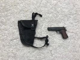 Predator Alan 'Dutch' Drop Leg Holster w/ 45 Pistol 1/6th MMS 72 - Hot Toys - $28.05