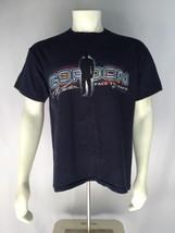 Jeff Gordon NASCAR Large Blue T-Shirt Short Sleeve Face The Race L 2003 ... - $19.60