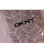 DKNY Island Chevron Graphite Gray/White Shower Curtain - $38.00