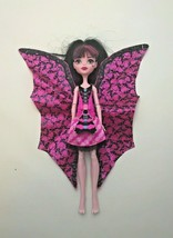 Monster High Ghoul to Bat Transformation Draculaura Doll Pink Black Dres... - $14.80