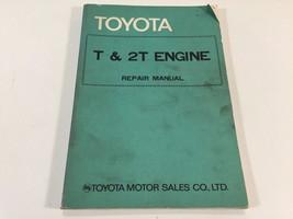 1972 Toyota T & 2T Engine Repair Manual 98060-1 - $29.99