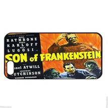 SON OF FRANKENSTEIN LUGOSI KARLOFF Apple Iphone Case 4/4s 5/5s 5c 6 6 Pl... - $7.96