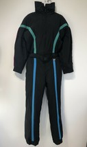 club attivo Long Sleeve Belted black pants snow suit Lizzy Lou Size 8 - $98.99