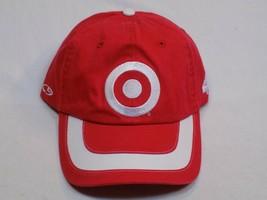 Target Kyle Larson 42 Hat Red White Bullseye NASCAR Adjustable Baseball Ganassi - $24.99
