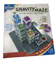 Thinkfun Gravity Maze Falling Marble Logic Game 8+ Perfect To Keep Busy - $10.44