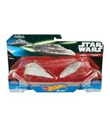 NEW SEALED 2014 Star Wars Hot Wheels Diecast Star Destroyer Mon Calamari... - $18.49