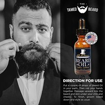 Best Sandalwood Beard Oil & Conditioner for Men - 2 oz - Urban Cowboy image 3