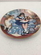 "Danbury Mint Children of the Week ""Sunday's Child""  Plate Gignilliat Art... - $12.19"