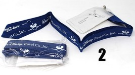 Lot of 2 Walt Disney Travel Company Pin Lanyard ID Pass holder - $7.71