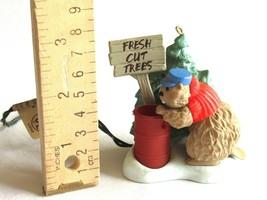 Busy Beaver Lighted Flickering Fresh Cut Trees Hallmark Ornament 1989 No... - $12.34