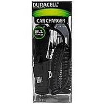 Duracell LE2248 2.1 Amp Micro USB Car Charger - Black - $22.53