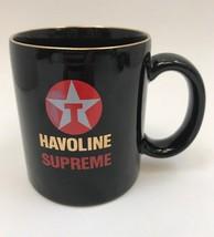 Texaco Havoline Supreme Motor Oil Coffee Cup Mug Tulsa Region - $11.87