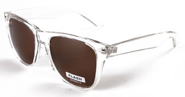 Sunscape Flash Dazed N Confused Clear Brown Adventurer Sunglasses