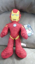 MARVEL AVENGERS ASSEMBLE IRON MAN Brand New Licensed Plush Stuffed Anima... - $11.99