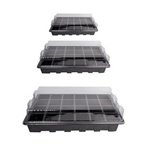 10 Pack -240 Cells -24 Grow Trays with Humidity Dome and Cell Insert - M... - $46.15