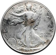 1938D Walking Liberty Half Dollar 90% Silver Coin Lot# A 402
