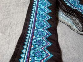 miao stitch crochet cotton fabric lace trim 9cm dress collar ribbon tape... - $8.50