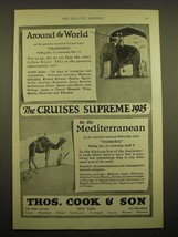 1924 Thos. Cook & Son Cruise Ad - Around the world - $14.99
