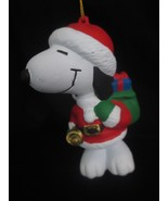 Peanuts Christmas Ornament Kurt S. Adler Snoopy Santa Clause Holiday Bet... - $19.98