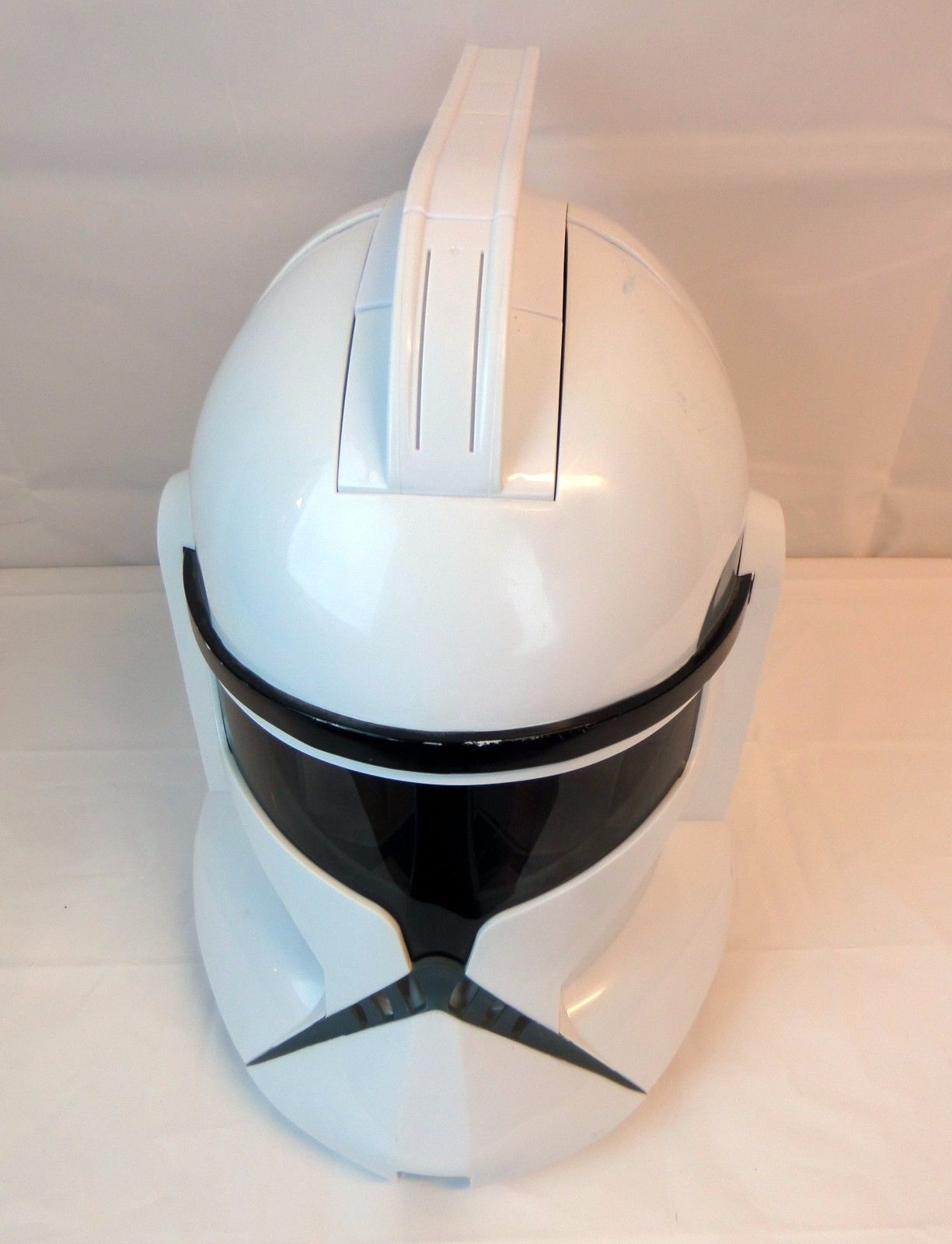 Star Wars Clone Storm Trooper White Helmet Voice Sounds Hasbro Talking
