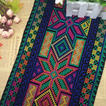 miao cross stitch crochet fabric lace trim 24cm... - $15.50