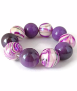 Purple and Pink Bracelet for Girls - $9.90