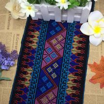 miao cross stitch crochet fabric lace trim 19cm dress collar ribbon tape... - $15.00