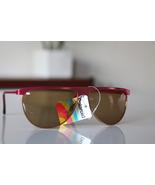 Polaroid Vintage Tortoise Sunglasses Salmon Pink frame/ Golden Polarizin... - $36.00