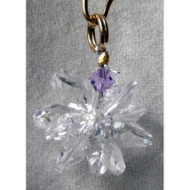 Miniature Clear Crystal Suncluster Charm image 6