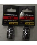 """Gearwrench 80492 3/8"""" Drive 12 point Socket 16mm 2pcs. - $2.72"""