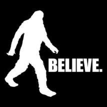 Bigfoot Tshirt Bigfoot I Believe T-Shirt Funny Mens Kids Sasquatch Tee Shirt - $11.99