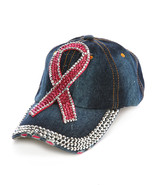 Bling Sparkly Pink Ribbon Breast Cancer Awarene... - $19.78