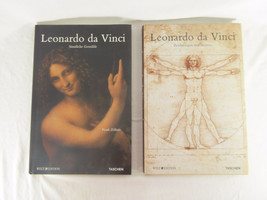Leonardo Da Vinci Sketches and Drawings & The Complete Paintings Set In ... - $98.97