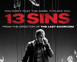 13 Sins DVD Horror Mystery Suspense Game Movie Thriller Show TV Movies