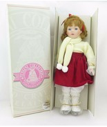 Tussini Collection - Porcelain Doll Peggy w/original box - $23.99