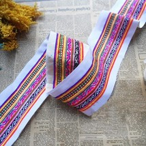 miao embroidery hand stitch cotton fabric lace ... - $8.00