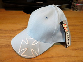 Magic Headwear Hat Cap Chopper Design Powder Blue - $4.90