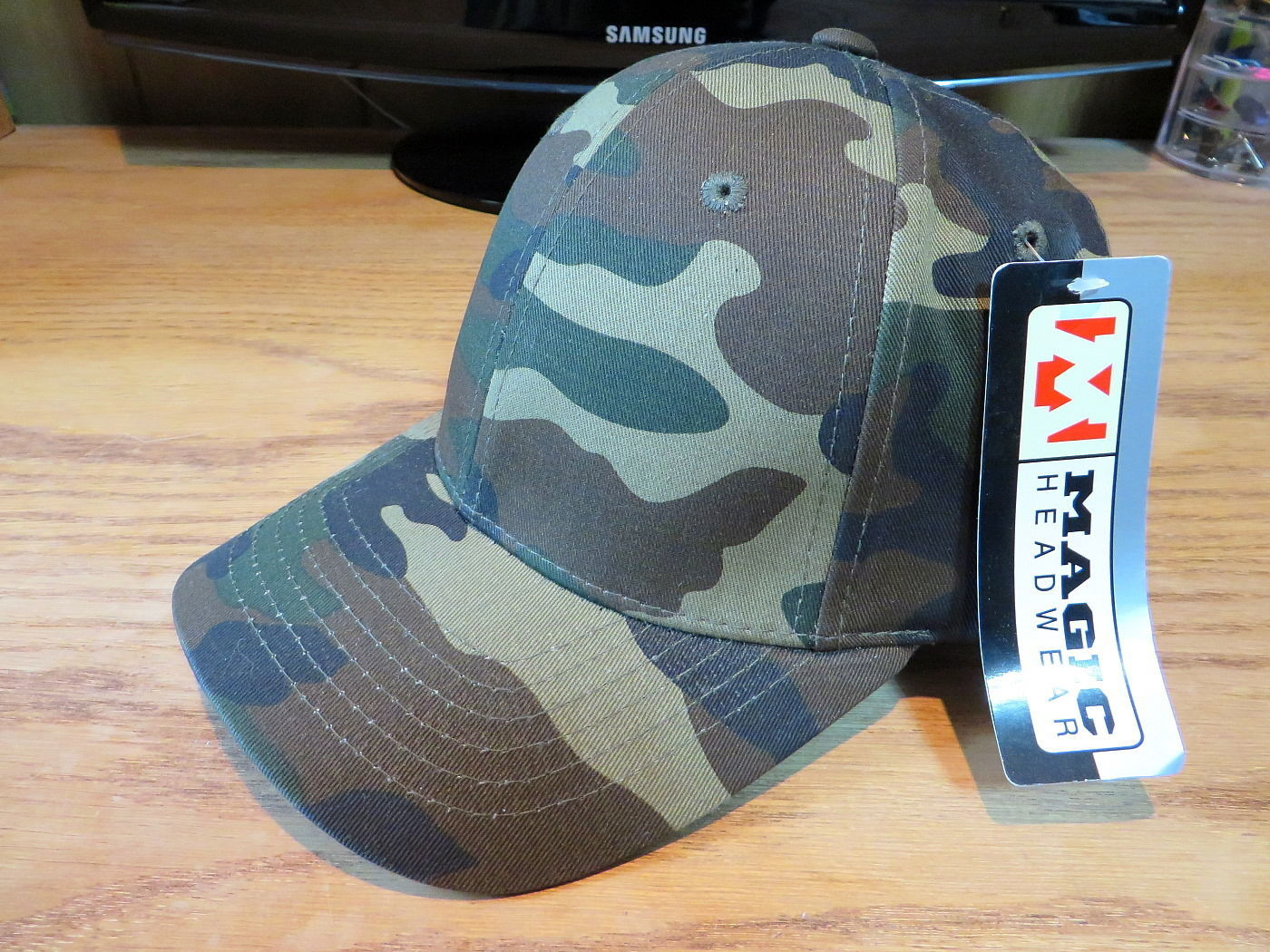 Magic Headwear Hat Cap Camo