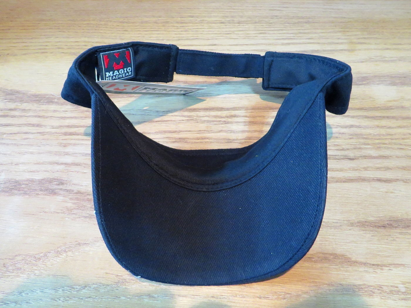 Magic Headwear Visor Hat Chopper Design Black