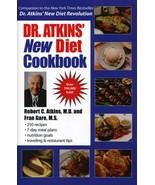 Dr. Atkins' New Diet Cookbook [Hardcover] [Aug 15, 2000] Atkins, M.D., R... - $7.20