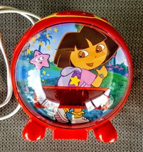Dora the Explorer Digital Alarm Clock AM FM Radio Night Light Snooze Sle... - $9.88