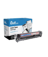 Quill Brand Remanufactured Laser Toner Ink Cartridge Magenta HP 128A CE323A - $13.20