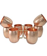Set of 8, Dungri Handmade Pure Copper Hammered Moscow Mule Mug Gift Idea... - $1.503,95 MXN