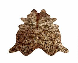 Cheetah Print Cowhide on Caramel - $499.00